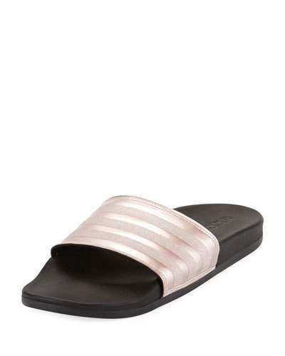 huge discount d1104 84f2d adidas Adilette Glitter Comfort Slide Sandal