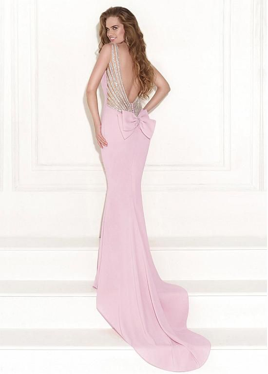 Buy discount Chic Stretch Charmeuse Bateau Neckline Mermaid Evening ...