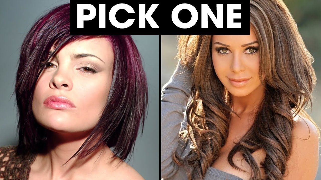 what hairstyle suits you best quiz | pick one personality test