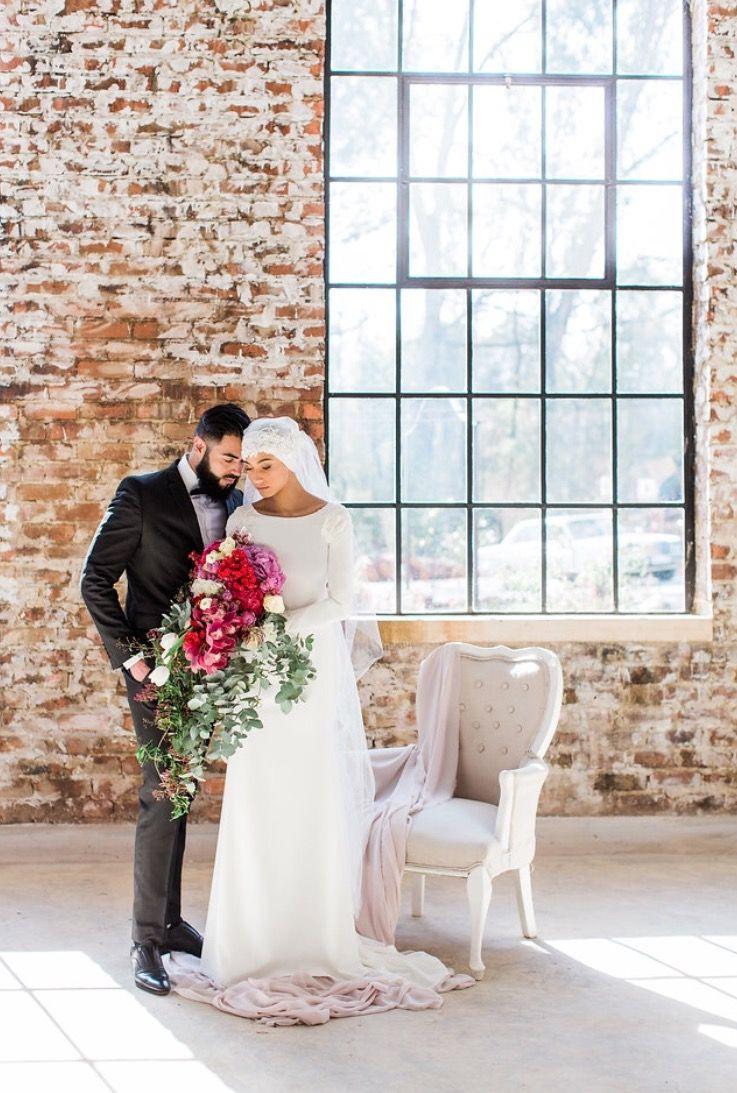 Muslim bride magazine promo muslim wedding inspiration marsala
