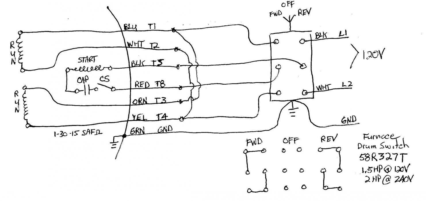 small resolution of 120v motor wiring diagram auto diagram database 120v motor capacitor wiring diagram 120v forward reverse switch