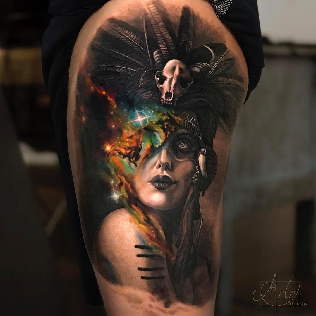 Arlo Di Cristina Arm Tattoo: Tattoo Art By © Arlo DiCristina