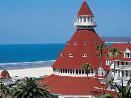Built In 1888 The Hotel Del Coronado Island San Go Ca