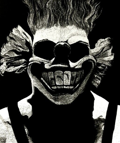 39 sweet tooth portrait 39 from 39 twisted metal 39 etching 2013 - Sweet tooth wallpaper twisted metal ...