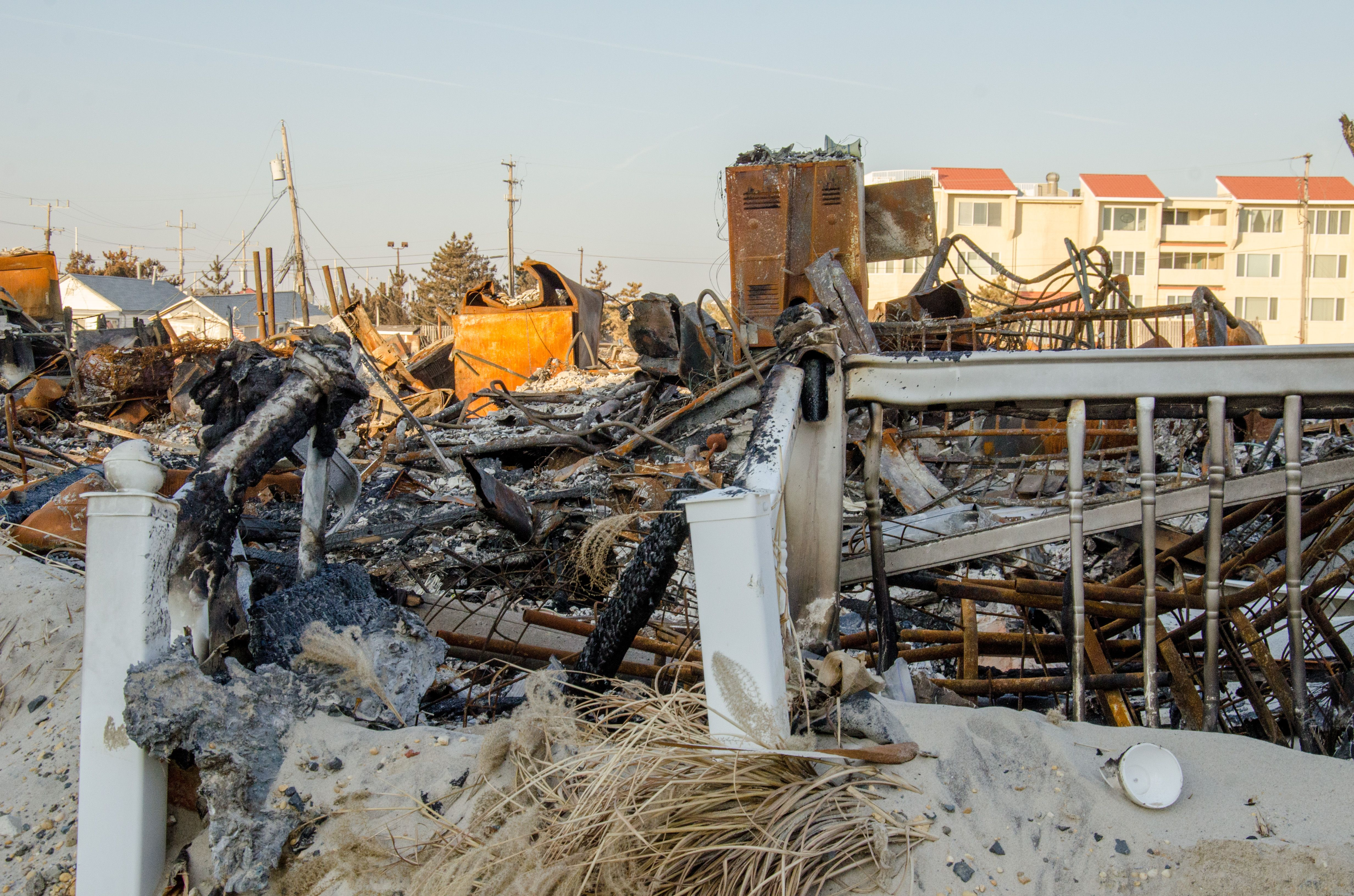 brick nj photos | ... Library: Homes Destroyed by Fire During Hurricane Sandy in Brick, NJ