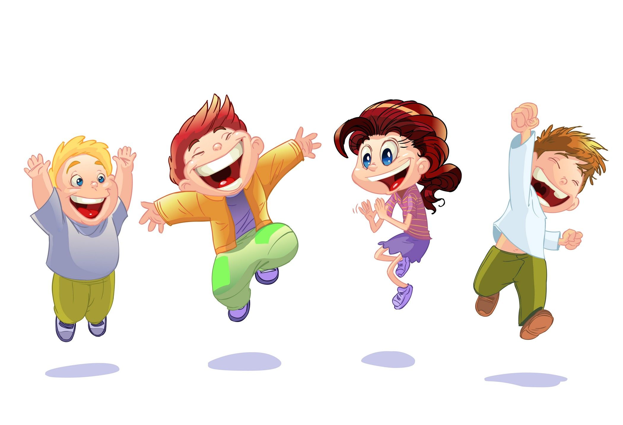 cartoon children kids people 08 - Kids Cartoon Images