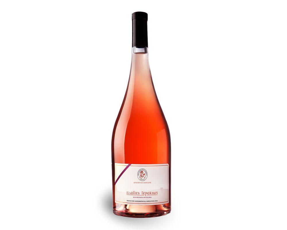 Falcons Hill Rose Avantis Rose Rose Wine Bottle Wine Bottle