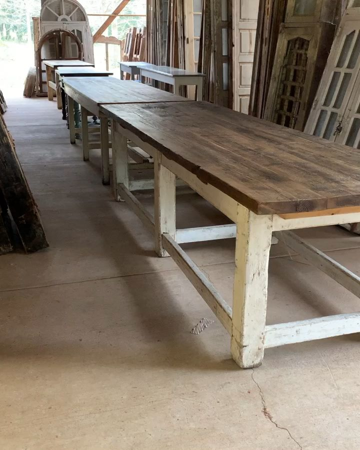 Photo of Antique tables just arriving!