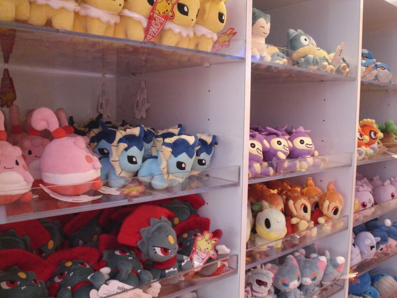 Cool Collectibles And Must Have Merch At Nintendo Nyc Store Pokemon Store Plush Dolls Cool Stuff