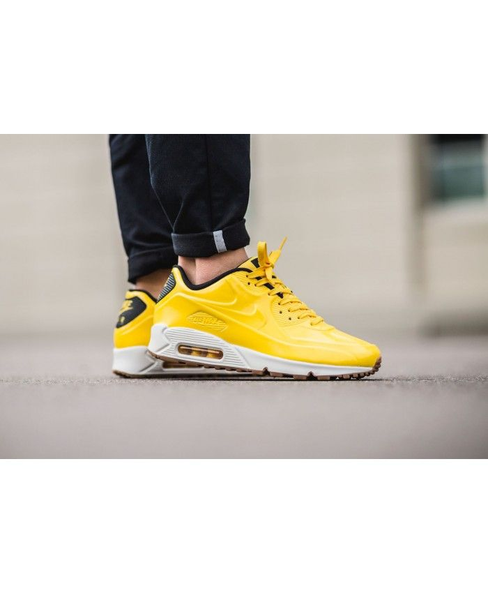 77cd3906b7bf23 Nike air max 90 vt yellow white shoes make my outlook not dull