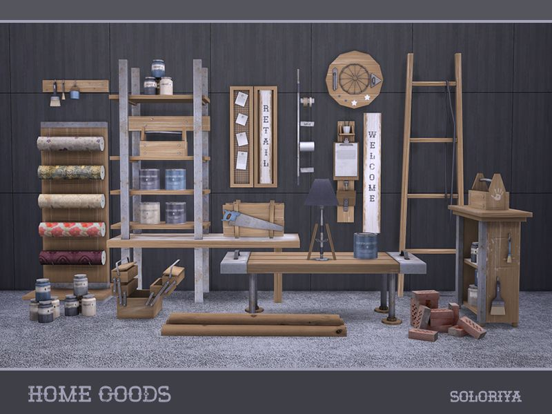 This set has everything for renovation of your house. 2 color ...