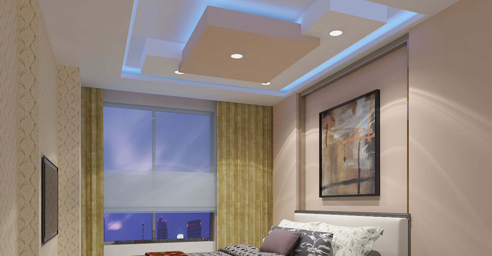 Residential False Ceiling False Ceiling Gypsum Board