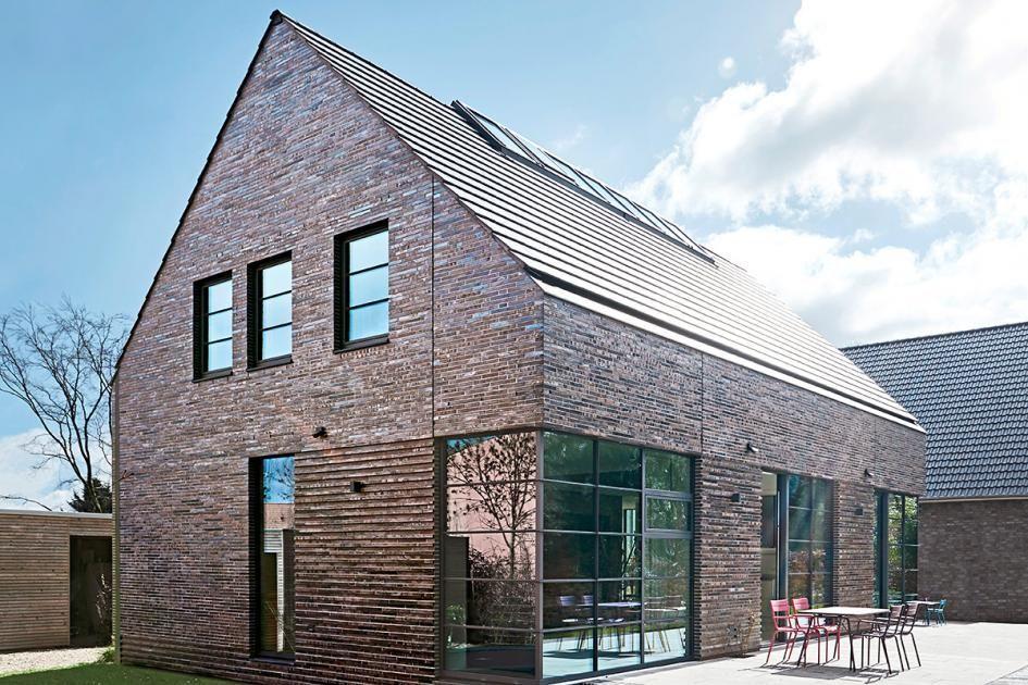 Satteldachhaus mit Loft-Feeling #schönerwohnen