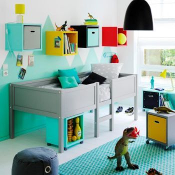 Tootsie lits sur lev s lits chambres meubles fly - Chambre enfant fly ...