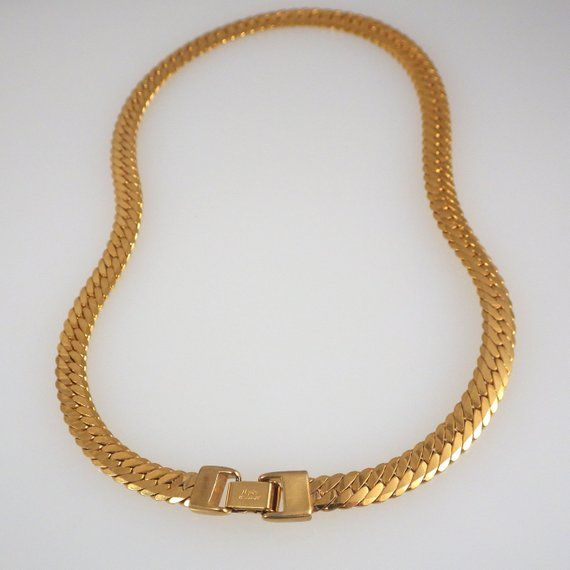 bf0bbdfb9e966 Four Vintage Gold Tone Napier Necklaces and Monet Necklaces ...