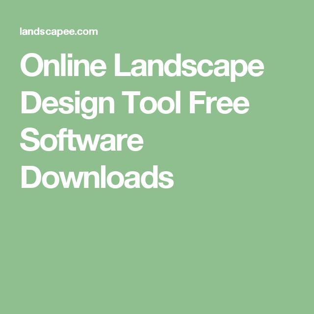 Online Landscape Design Tool Free Software Downloads Online