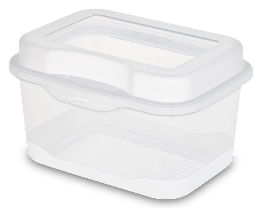 Sterilite Micro Flip Top Storage Box / 18018612