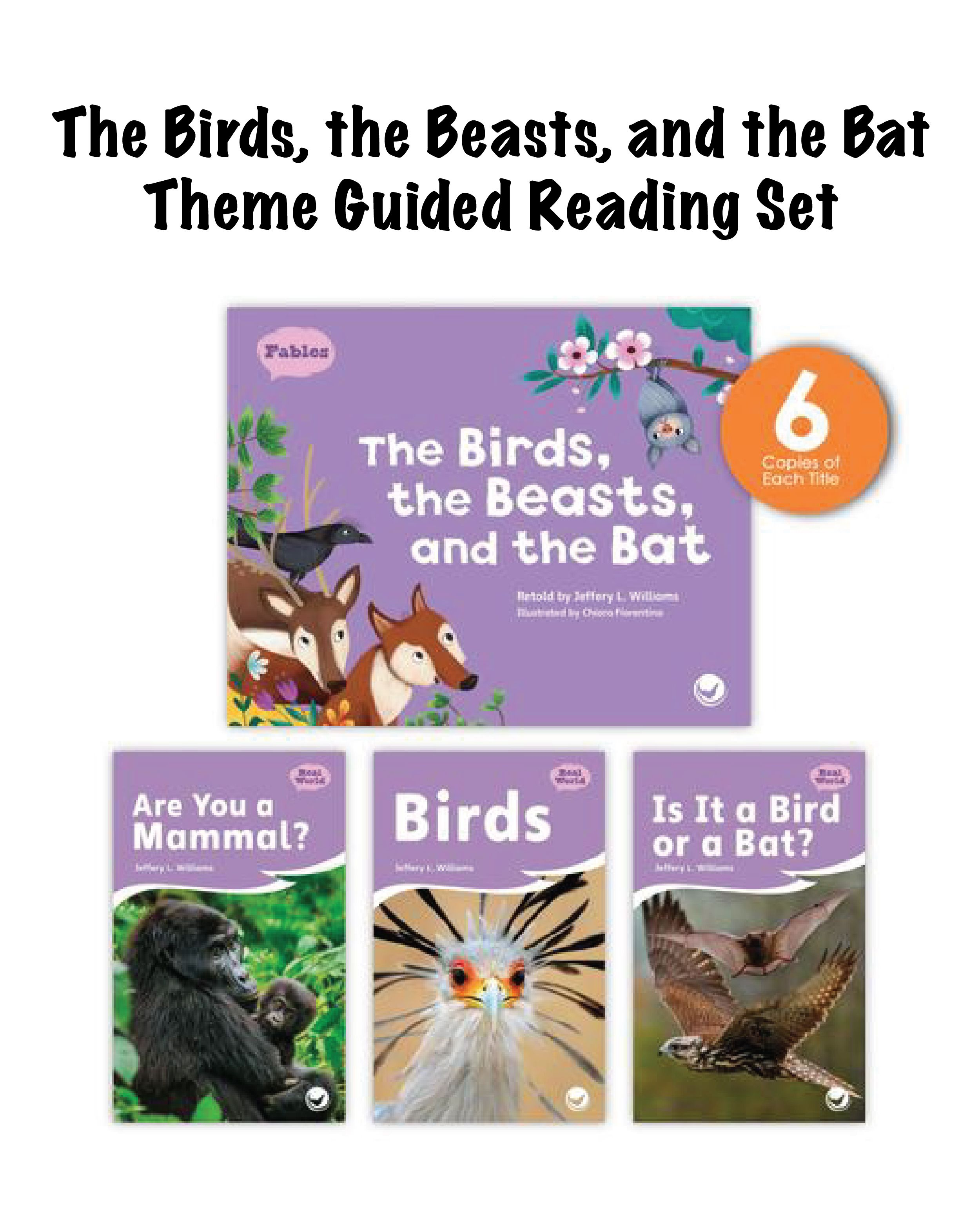The Birds The Beasts And The Bat Theme Guided Reading
