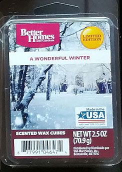 d9171c43529e3211034bb0bc61fce5e0 - Better Homes And Gardens A Wonderful Winter Wax Cubes