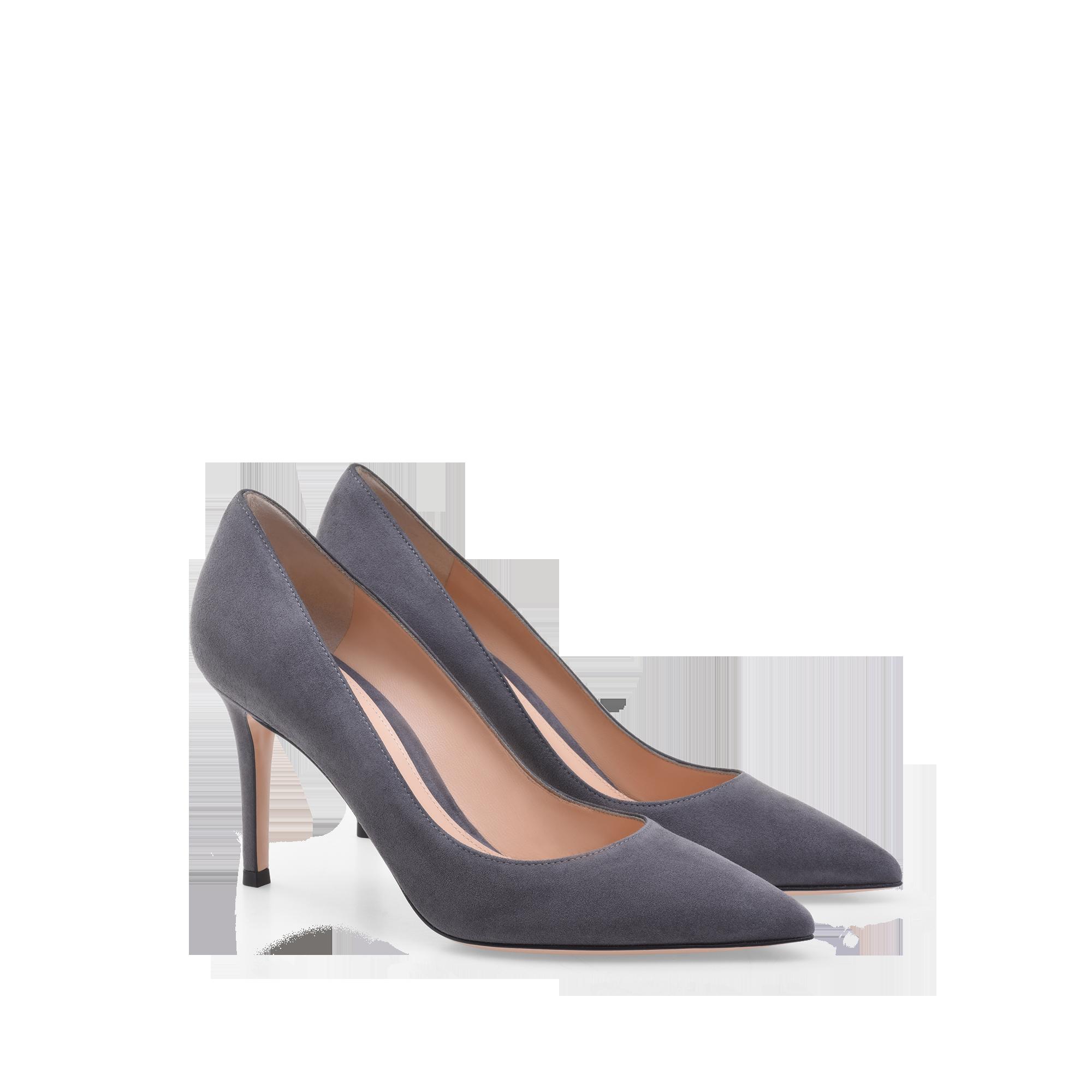 Gianvito 85 G24580 85ric Camlapi 675 00 Lapis Grey Stiletto Heels Heels Pumps