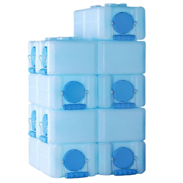 Waterbrick Emergency Water Storage 10 Pack Water Storage Containers Water Storage Food Storage