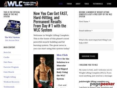 14852475fbb Weight Lifting Complete Weight Lifting Complete