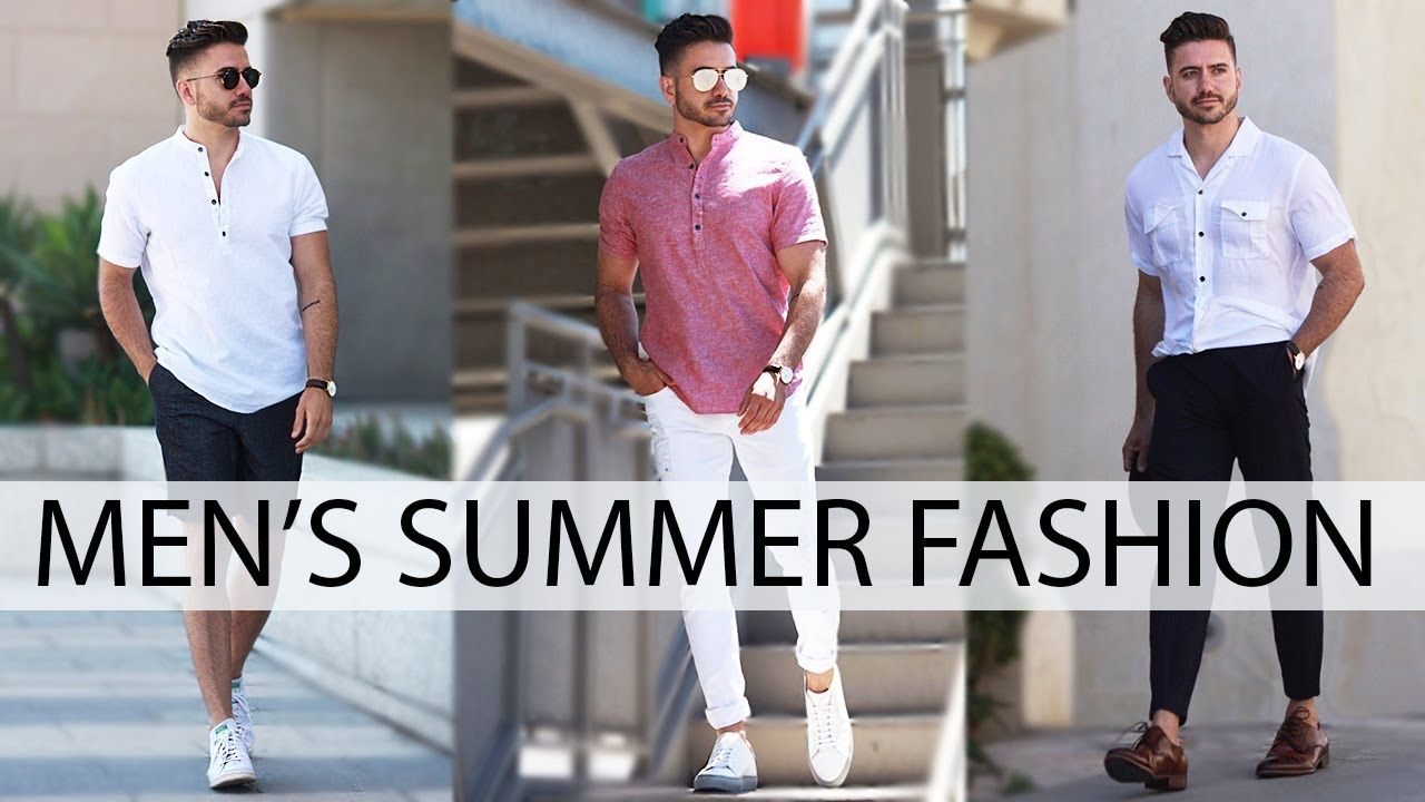 5b238b0c236d7 3 EASY SUMMER OUTFITS FOR MEN 2017 | MEN'S FASHION & STYLE INSPIRATION  LOOKBOOK | Alex Costa - YouTube