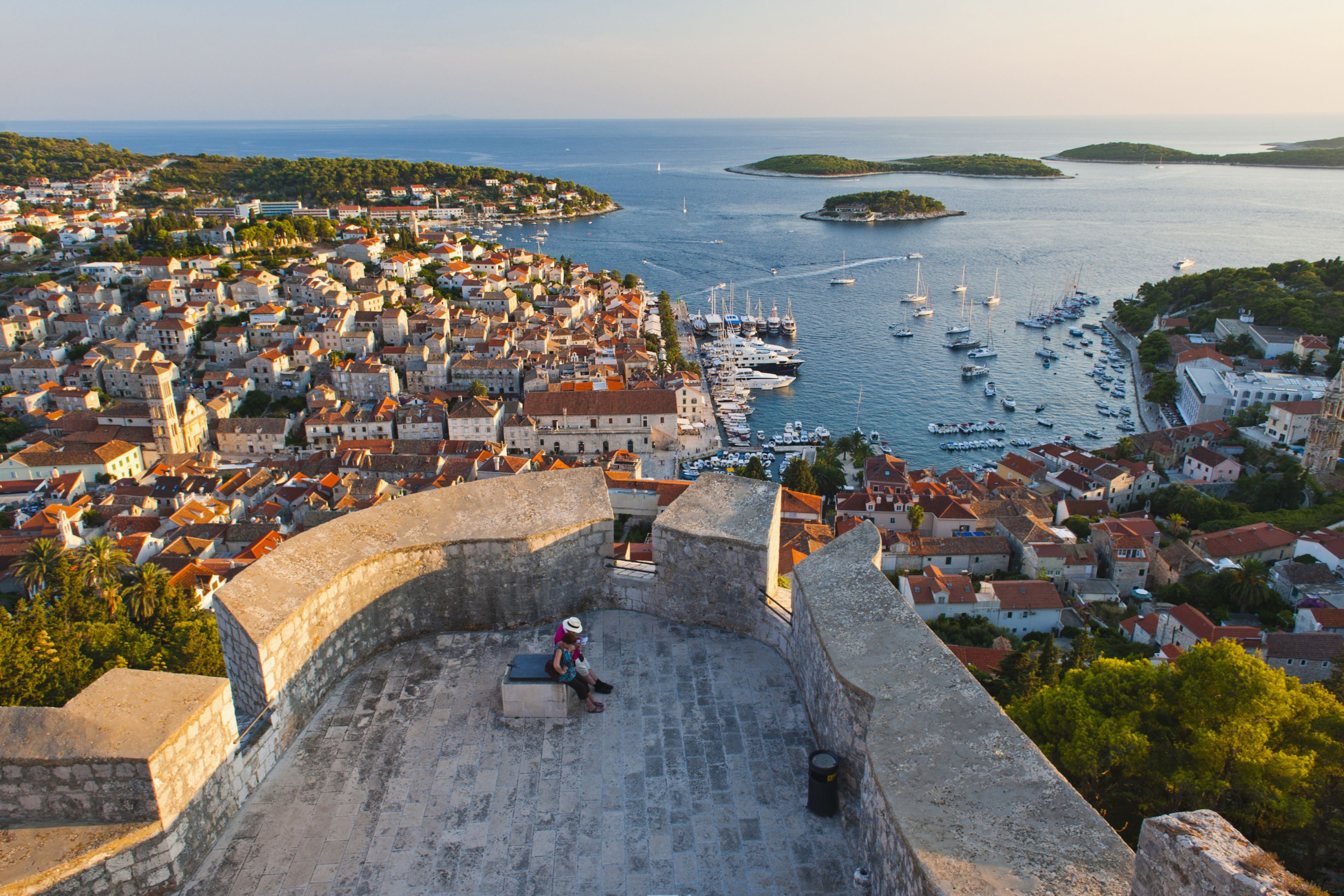 Fortica Hvar Town Croatia Attractions Hvar Island Croatia Travel Croatia Holiday