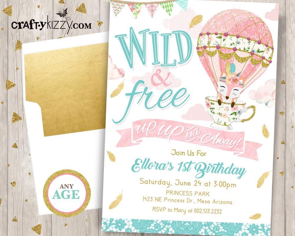 Pin On Birthday Invitations By Craftykizzy Com