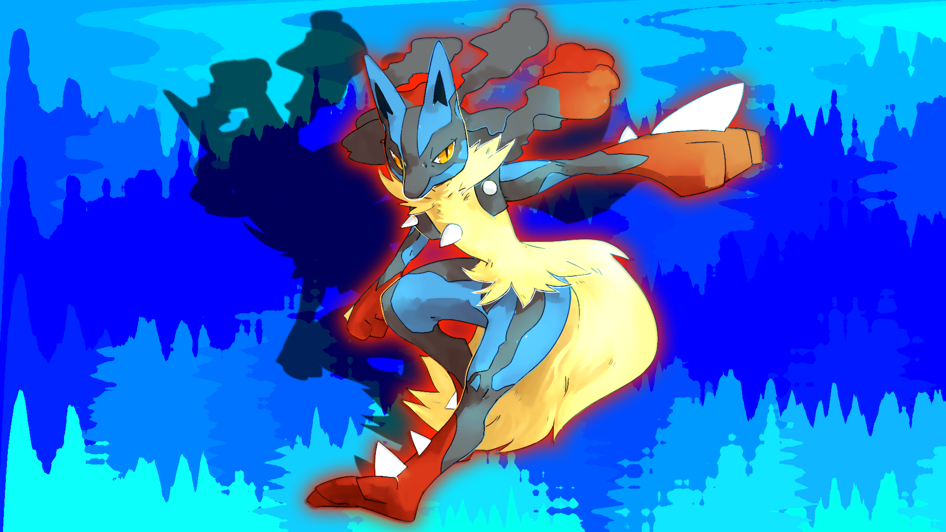 Undefined Lucario Wallpapers Adorable