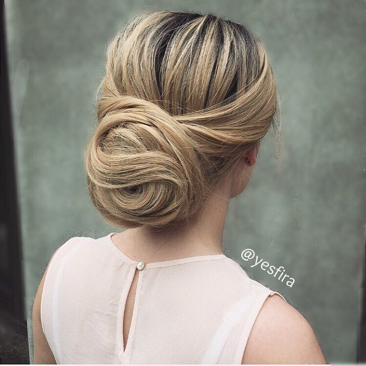 Elegant Updo Wedding Hair Inspiration Elegant Updo Wedding Updo Hair Inspiration