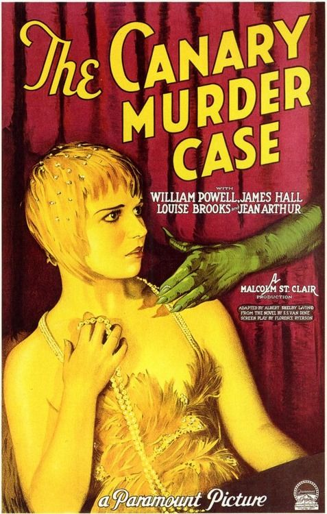 Louise Brooks ~ The Canary Murder Case - 1929