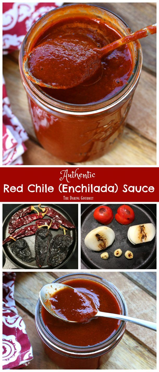 Photo of BEST Authentic Enchilada Sauce