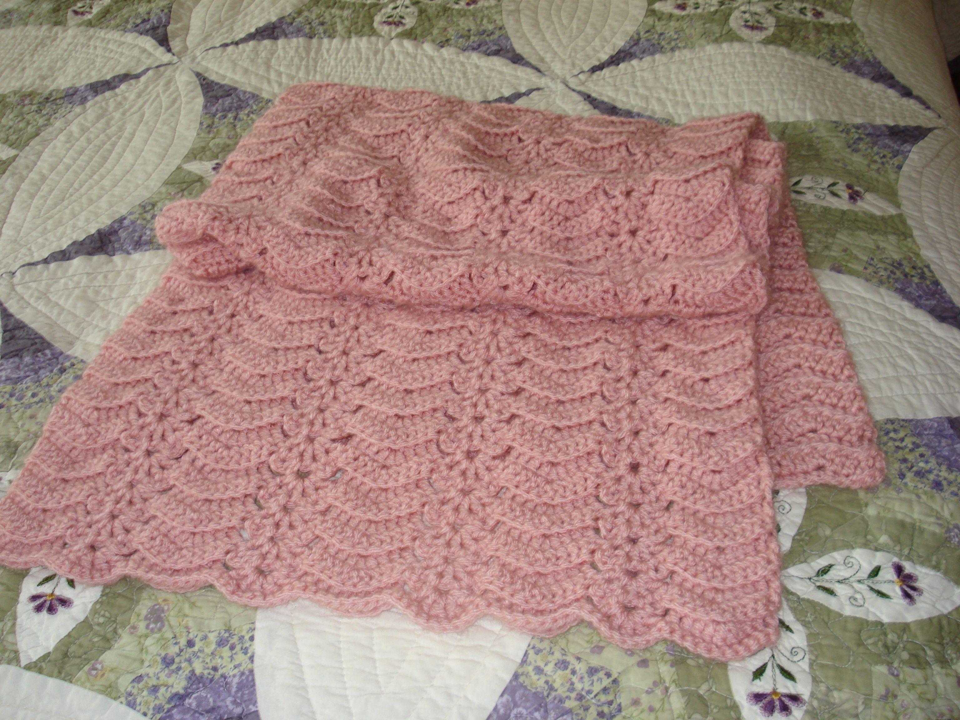 Crochet Shawls Patterns Free Only   ve been crocheting triangular ...