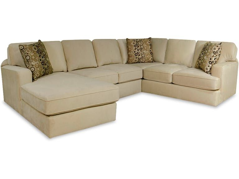 England Rouse Sectional 4r00 Sect Sectional Living Room