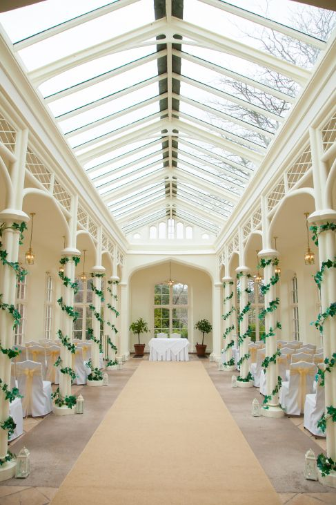 Wedding Venue The Orangerie At St Audries Park Taunton Somerset
