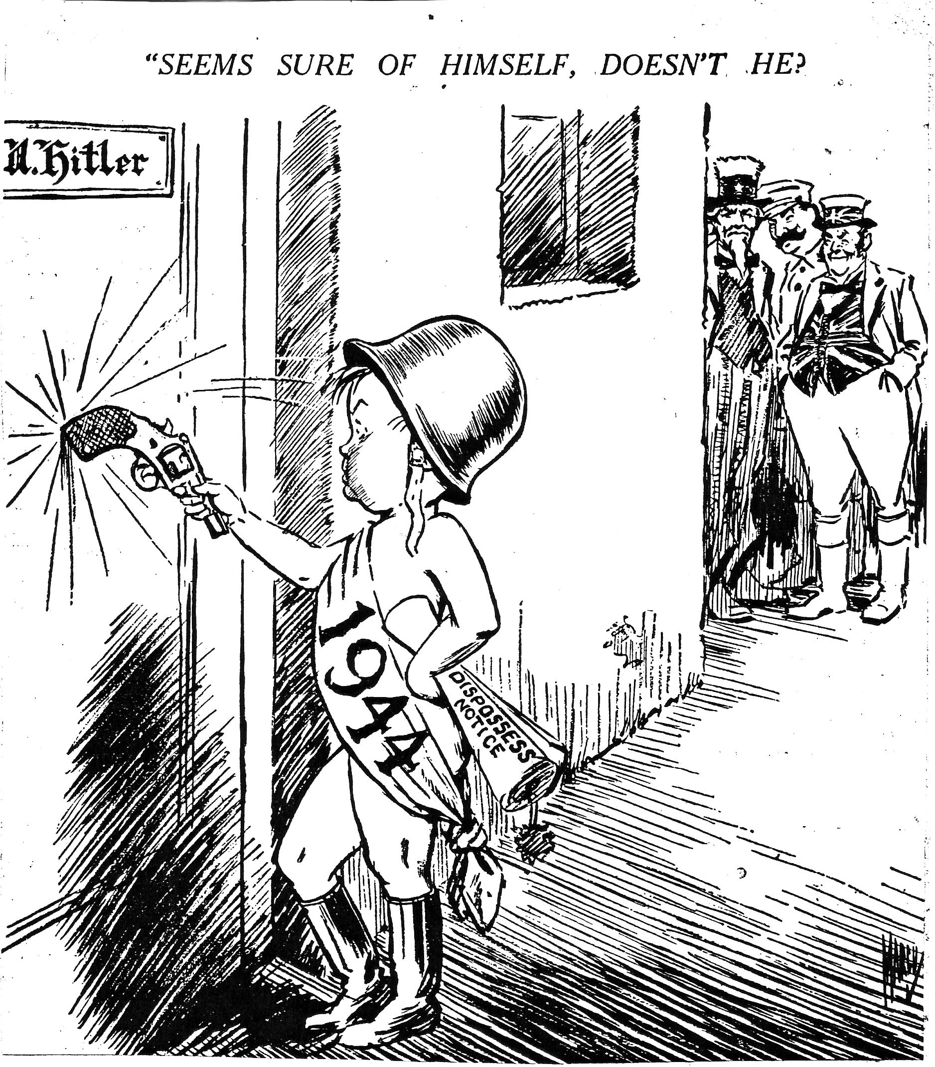 Optimism For The New Year 1944 History Modern History Cartoon