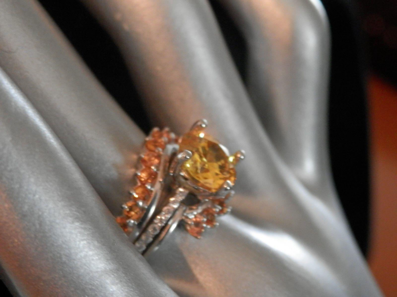 455tcw Natural Yellow Zircon Diamond Accentsyellow Sapphire Enhancersz 7price19995