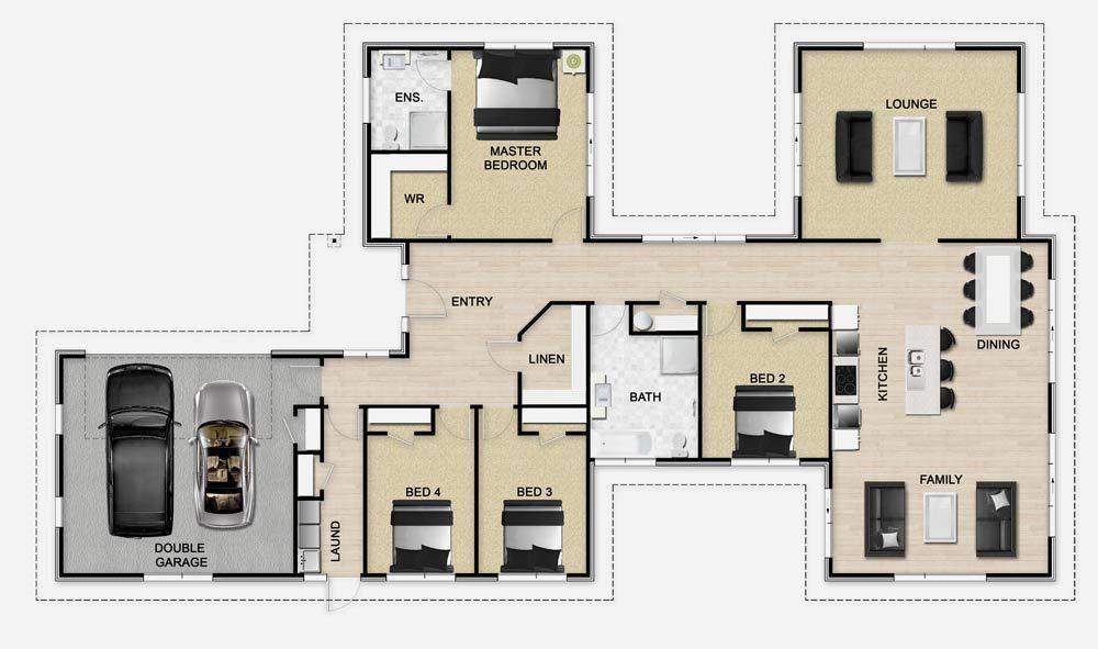 Golden Homes Plan: Mono 249 | House Plans | Pinterest | House