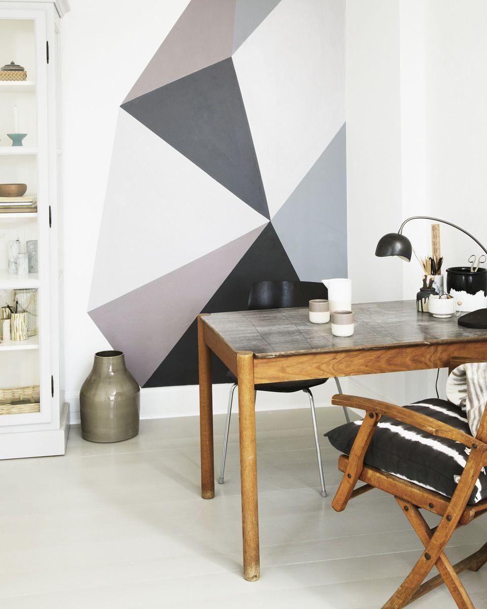37 idées déco pour vos murs   Idee deco mur, Deco mur et Mur - Idee Deco Mur