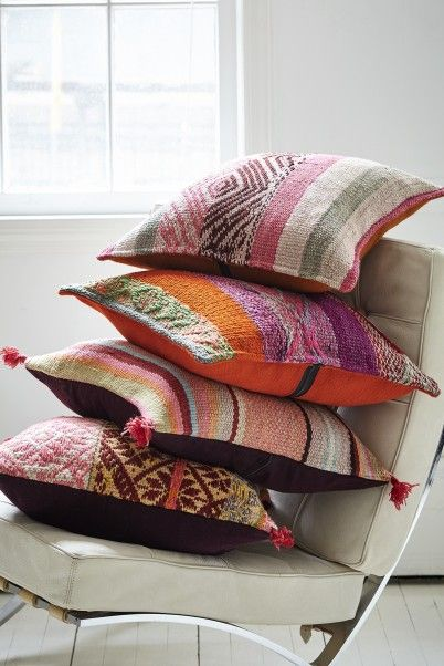 Embrace the Bright: A Textile Shop Owner at Home i