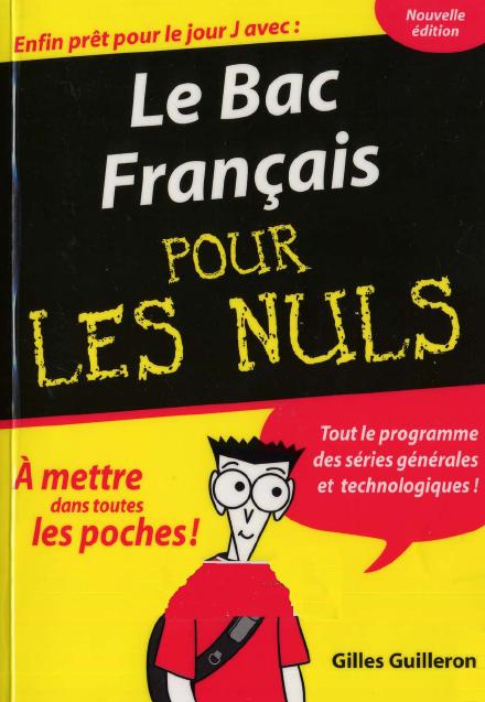 Telecharger Le Bac Francais Pour Les Nuls Pdf Le Cours Les