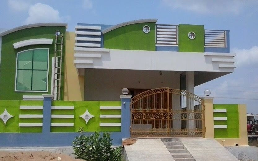 My House Small House Design Exterior House Front Design House Architecture Design