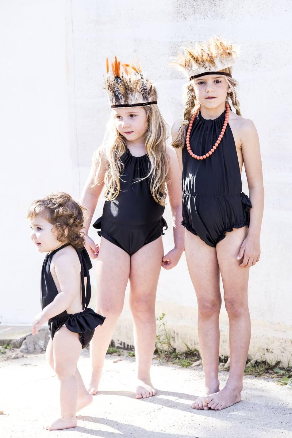 60a7808fb2 By Niné Swin Suits, Baby Bikini, Kids Suits, Girls Swimming, Kids Swimwear