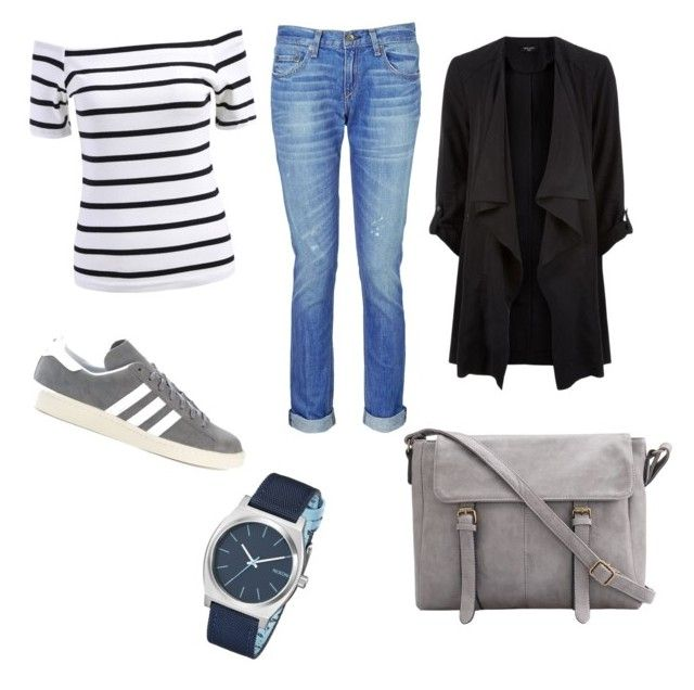"""""""style"""" by robbye-risi on Polyvore featuring rag & bone, Nixon and adidas"""