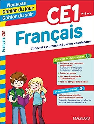 Amazon Fr Cahier Du Jour Cahier Du Soir Francais Ce1 Collectif Livres Download Books Ebook Good Books