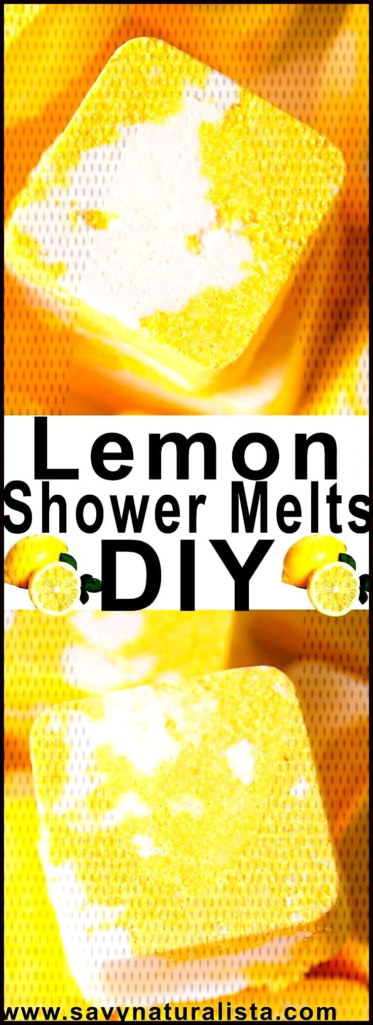 Lemon Shower Melts Savvy Naturalista Make even the speediest shower feel indulgent with these easy
