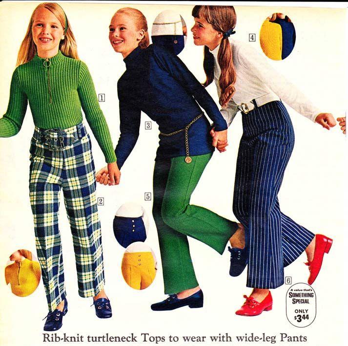 70s girls fashion
