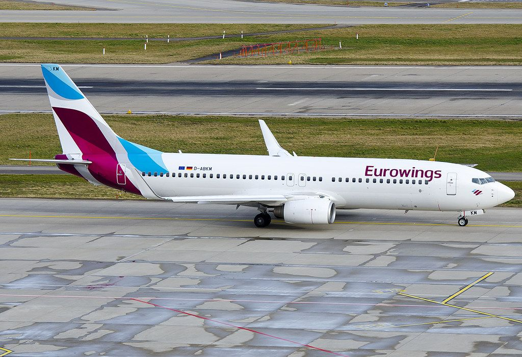 DABKM Eurowings (TUIfly) Boeing 73786J in 2020 Boeing