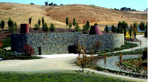 Keller Estate Winery Designed By Mexican Architect Ricardo Legorreta Wine Tour Winery Petaluma California